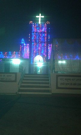 Lucknow District, Indien: Methodist Church Daliganj Lucknow -uttar pradesh india .Church estd on 1932