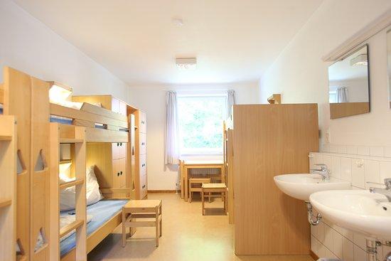 Albersdorf, Germany: Mehrbettzimmer der Jugendherberge