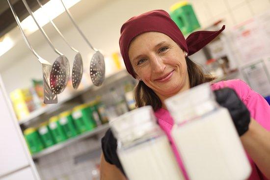 Albersdorf, Germany: Es wird frisch gekocht