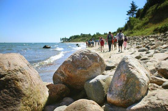 Dahme, Jerman: Strand vor der Jugendherberge