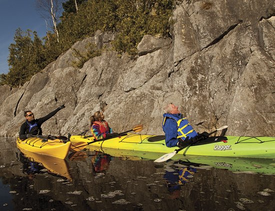 Saint John, Kanada:  Dominion Park with Go Fundy Events - Kayak tour