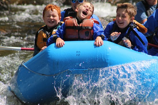 Almont, CO: Rafting and Laughing