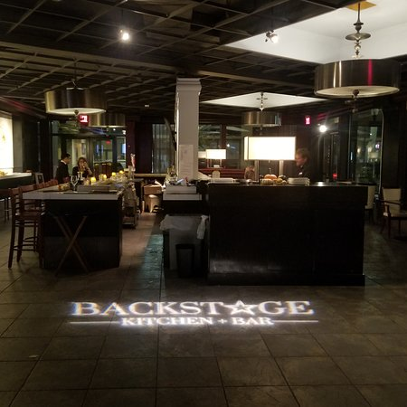 Hotel Providence: The Backstage Kitchen & Bar with a spectacular beverage menu!