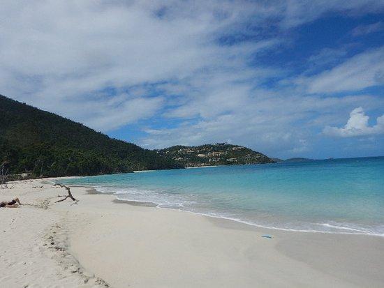 Cinnamon Bay, what a gorgeous beach!