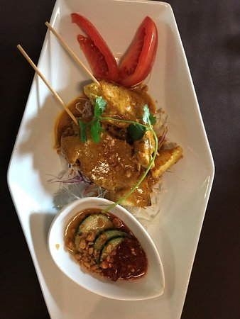 Thai Spice Restaurant: Chicken appetizer