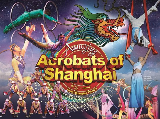 ‪Amazing Acrobats of Shanghai‬