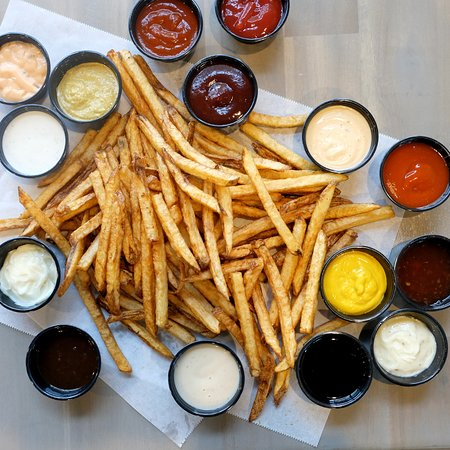 Burger Boss: 15 different dipping sauces to try!