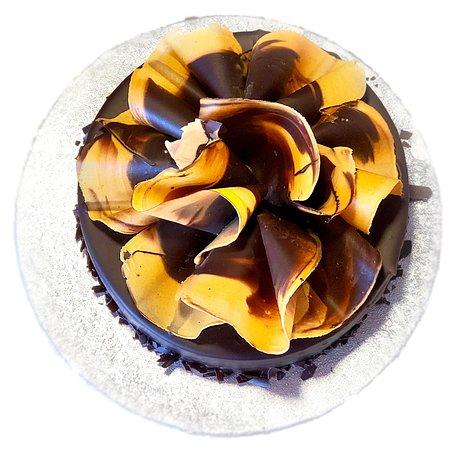 Layers Of Decadent Chocolate Sponge Rich Chocolate Orange
