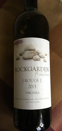 Amherst, VA: Absolutely the best red blend you'll ever taste! Very reasonably priced, too.