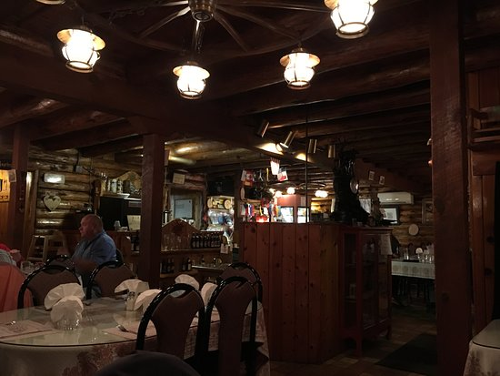 Edelweiss Restaurant Dark Interior