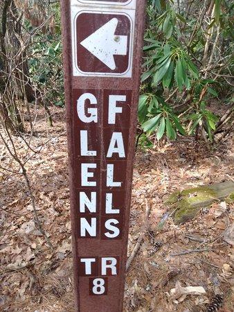 Jackson County, นอร์ทแคโรไลนา: Glen Falls
