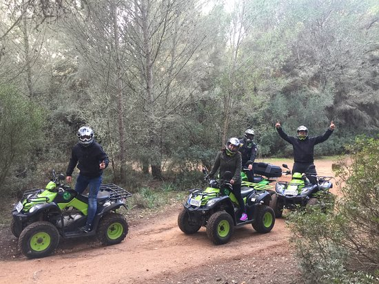 El Arenal, Spanien: quad tour safari