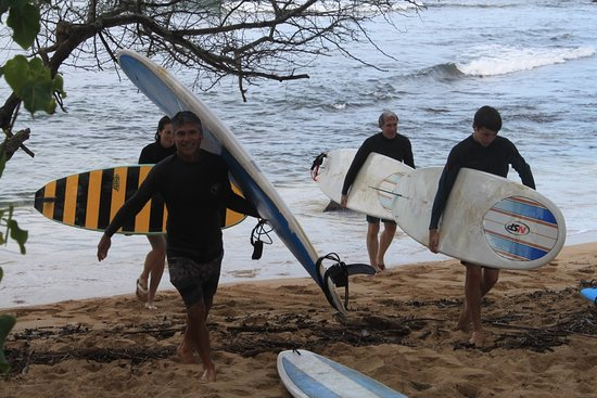 Surf Hawaii Surf School: Puaena Point in Haleiwa