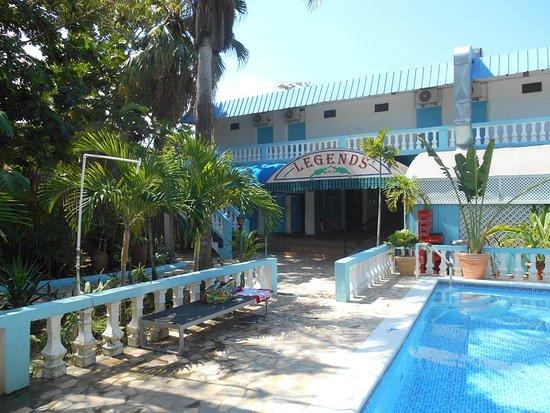 Legends Beach Hotel Side Pool