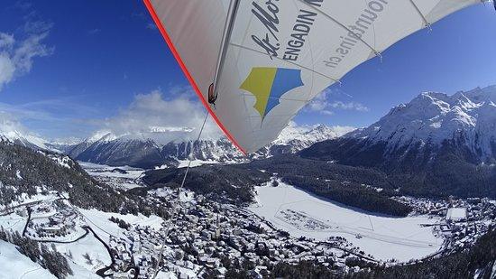 Engadin St. Moritz, Suisse : fly high