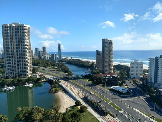 Marriott Vacation Club at Surfers Paradise: View fromroom