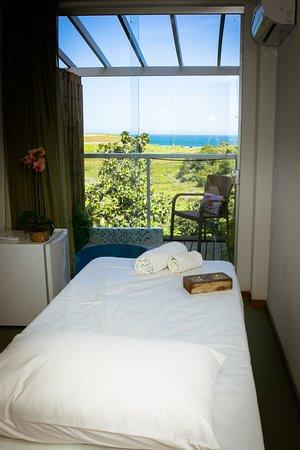 Meaipe, ES: Suite Mar Luxo solteiro