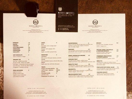 plant based menu - Picture of KuddelMuddel Cafe & Kitchen