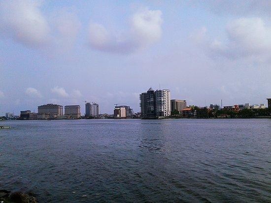 The view from Oyinkan Drive Ikoyi of Victoria Island
