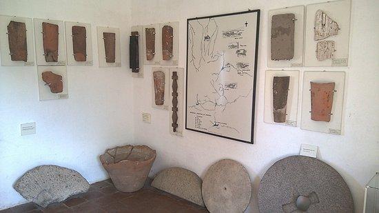 Alta Gracia, Argentina: Sala donde se exponen distintos tipos de tejas
