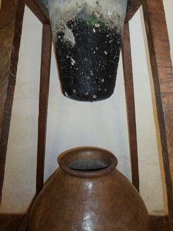 Alta Gracia, Αργεντινή: Antiguo método del filtrado