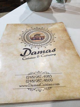 Farmington, Мичиган: Damas Cuisine & Catering