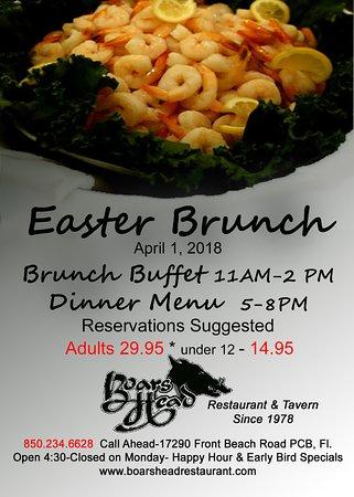 Boars Head Restaurant Tavern Pcb Family Brunch Buffet Near