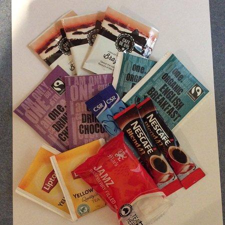 هاملتون تاون هاوس موتل: Complimentary coffee, hot chocolate, teas