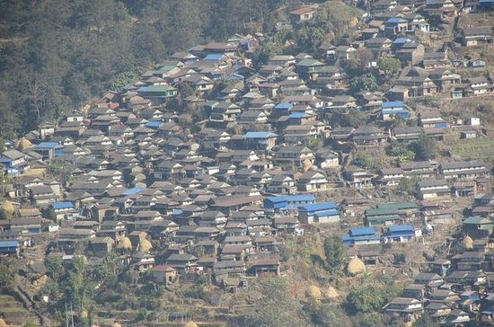 4WD Ghalegaun and Bhujung Village...
