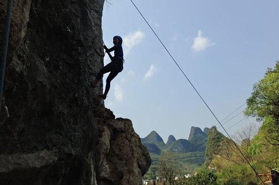 Halber Tag Yangshuo Rock Climbing im...