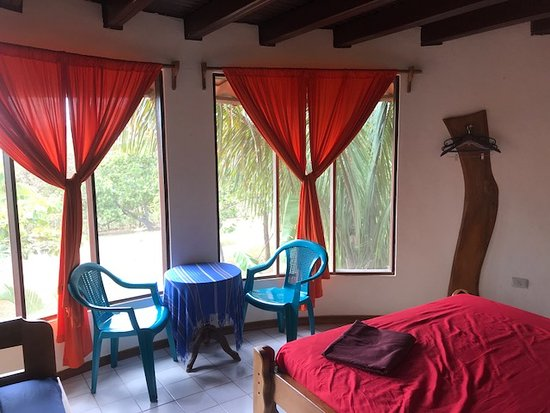 Hotel El Castillo Divertido: All open windows in the room