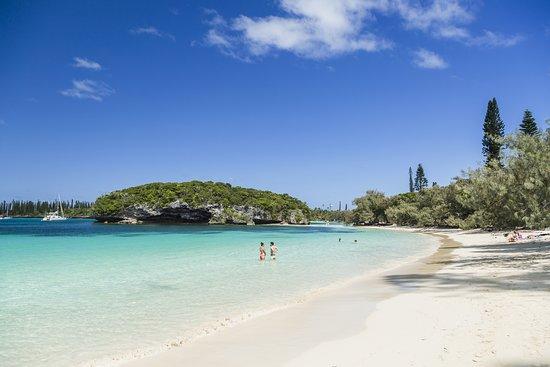 Kanumera bay in the Isle of Pines, New Caledonia