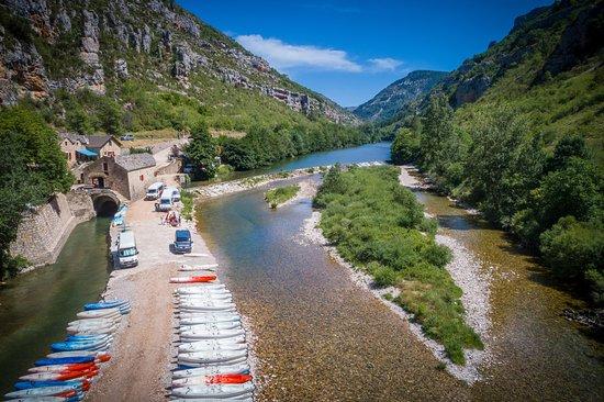 Canoe Moulin de la Malene