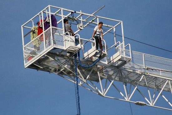 Great Canadian Bungee : Crane jump