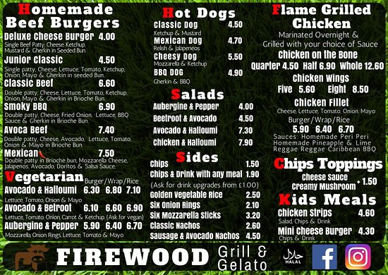 Firewood Grill and Gelato - Picture of Firewood Grill and Gelato