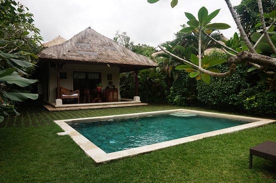 Plataran Canggu Resort & Spa : piscine privée de la villa
