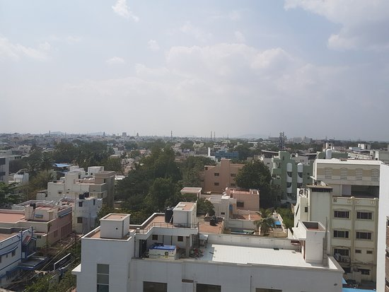 View from the roof of the Star Residency
