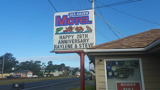 Sea Haven Motel: Thank you Maureen!