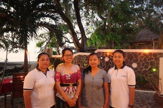 Pemaron, إندونيسيا: Friendly Staff