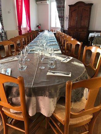 Rieumes, Frankrike: Repas de groupe