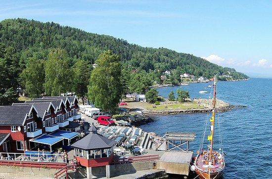 Røyken, Norge: Ramton Brygge ved Oslofjorden