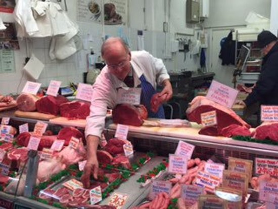 Meat from Yorkshire farms.