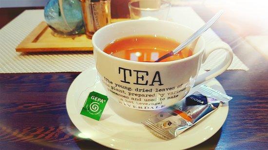 Hückeswagen, Deutschland: Fairtrade Tee und Kaffee