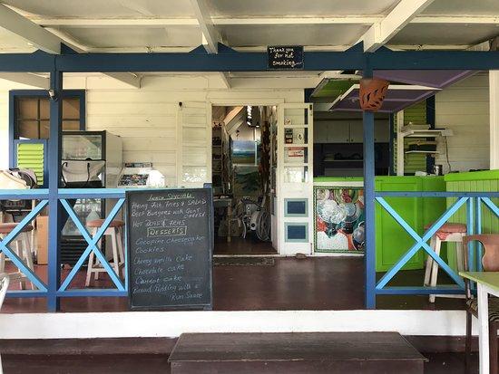 Saint Thomas Parish, باربادوس: The cafe