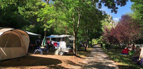 Les Vignes, France : Camping Le Beldoire