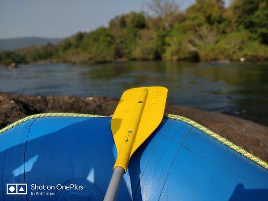 Ganeshgudi, Indien: Rafting