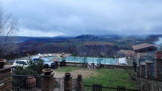 San Venanzo, Italien: Piscina (paesaggio invernale)