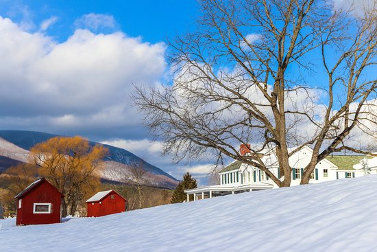 Arlington, VT: Late winter sun!