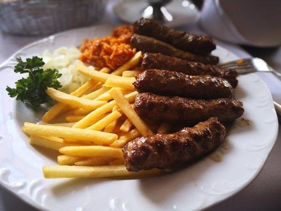 Gladbeck, Alemanha: Heute mittag im. Resturant