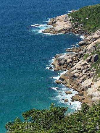 Barra da Lagoa: Mirador trilha a praia Galheta